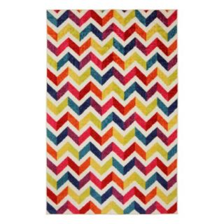 Mohawk Home Mixed Chevrons Area Rug   5x8