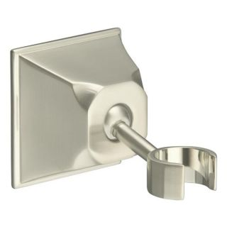 Kohler K 422 bn Vibrant Brushed Nickel Memoirs Adjustable Wall mount Bracket