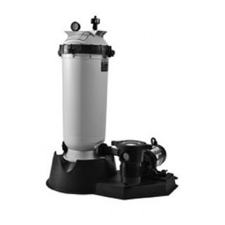Pentair PNCC0100OF1260 Clean amp; Clear Aboveground Cartridge Filter System, 1.5 HP Pump 100 Sq. Ft Filter Area
