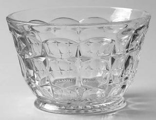 Indiana Glass Constellation Clear Mayonnaise Bowl, Bowl Only   Line #300,Rectang