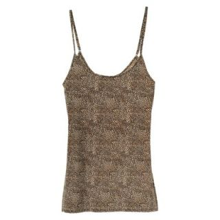 JKY By Jockey Womens Nylon Stretch Cami   Animal Print L