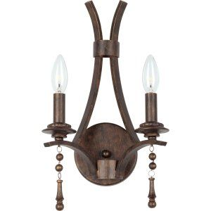Crystorama Lighting CRY 9352 EB Parson Parson 2 Light English Bronze Sconce