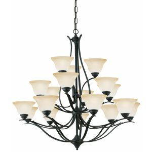 Thomas Lighting THO SL861822 Prestige Chandelier Sable Bronze 18x40W