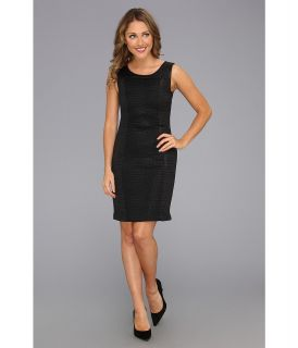 Kenneth Cole New York Jill Dress Womens Dress (Black)