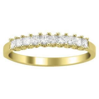 1/2 CT.T.W. Diamond Band Ring in 14K Yellow Gold   Size 6.5
