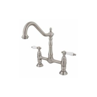 Elements of Design ES1178PL New Orleans Two Handle Kitchen Faucet