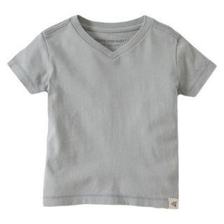 Burts Bees Baby Toddler Boys V Neck Tee   Fog 3T