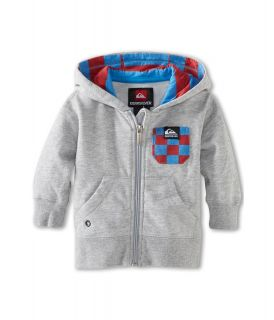 Quiksilver Kids Solana Checks Fleece Boys Sweatshirt (Silver)