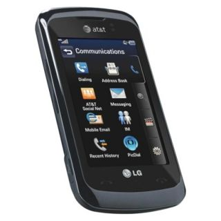 LG GT550 Encore Unlocked Cell Phone for GSM Compatible   Black