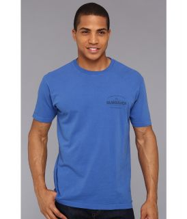 Quiksilver Time Travel Tee Mens T Shirt (Blue)