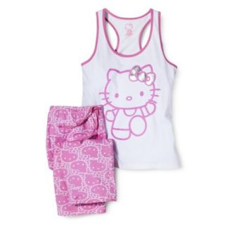 Hello Kitty Juniors PJ Set   Pink XL(15 17)