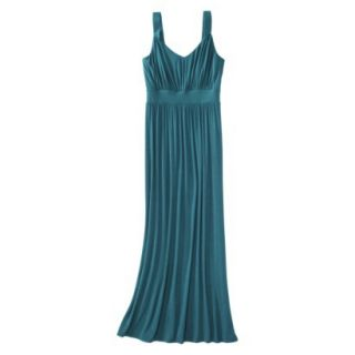 Merona Petites Sleeveless Maxi Dress   Monteray Blue LP