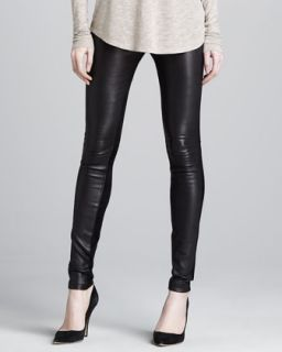 Womens Skinny Leather Pants   Vince