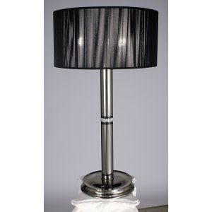 Framburg Lighting FRA 1087 PS Princessa Three Light Table Lamp from the Princess