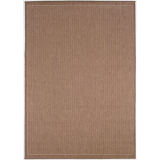 Recife Saddle Stitch Cocoa Rug (86 X 13) (BrownSecondary colors Natural beigePattern StripeTip We recommend the use of a non skid pad to keep the rug in place on smooth surfaces.All rug sizes are approximate. Due to the difference of monitor colors, so