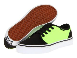 Vans Kids 106 Vulcanized Boys Shoes (Black)
