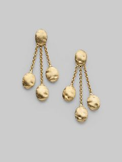 Marco Bicego 18K Yellow Gold Three Strand Earrings/Short   Gold