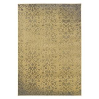 Supreme Area Rug   Gold/Gray (53x76)