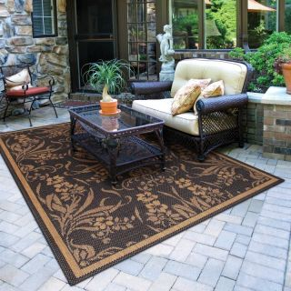 Couristan Recife Garden Cottage Indoor/Outdoor Area Rug Multicolor   1516/0111