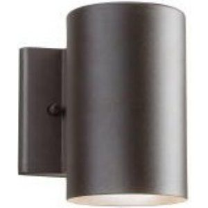 Kichler KIC 11250AZT Universal Outdoor Wall 1 Light LED