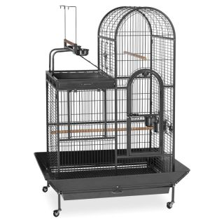 Prevue Pet Products Deluxe Parrot Cage with Playtop Area Multicolor   3159