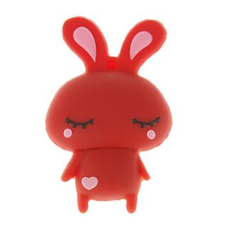4G Cute Cartoon Rabbit Shaped USB Flash Drive