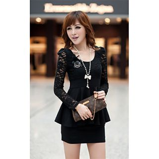 Womens Bodycon Lace Dress