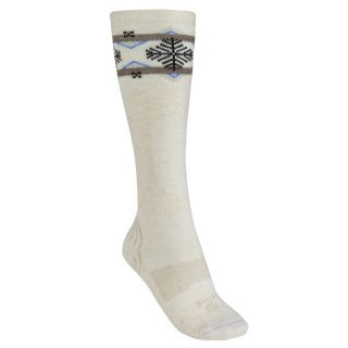 Lorpen Lightweight Ski Socks   PrimaLoft(R)  Merino Wool (For Women)   CREAM (S )