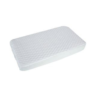Summer Infant Quilted Fitted Mattress Pad, White
