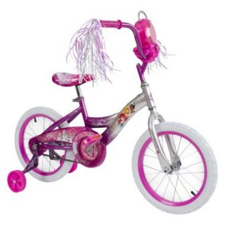 Huffy Disney Princess 16 Girls Bike With Removable Jewel Storage Case   Pink