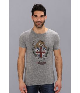 Lucky Brand Triumph Tiger Crests Graphic Tee Mens T Shirt (Black)