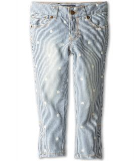 Lucky Brand Kids Charlotte Ankle Clover Jean Girls Jeans (Blue)