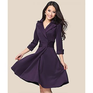 Womens Elegant Slim Princess Dress