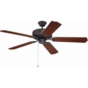 Ellington Fans ELF E52ABZ Pro 52 Ceiling Fan Motor only with Optional Light Kit