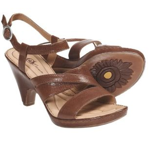 Crown by Born Dorian Sandals   Leather  Ankle Strap (For Women)   RUST LEATHER (8 )