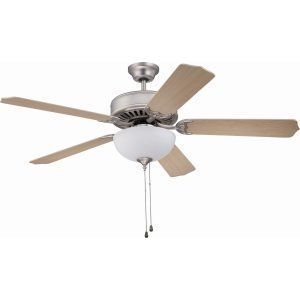Ellington Fans ELF E207BN Pro 207 52 Ceiling Fan Motor only with Optional Light