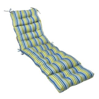 Greendale Home Fashions Indoor/Outdoor Chaise Lounge Cushion   72 x 22 in.