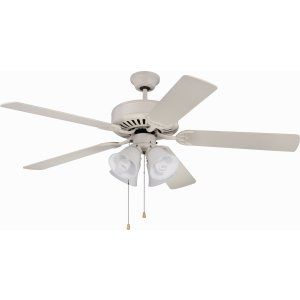 Ellington Fans ELF E203AW Pro 203 52 Ceiling Fan Motor only with Integrated Lig