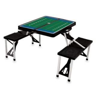 Black Folding Picnic Table With Football Imprint   811 00 175 981 0
