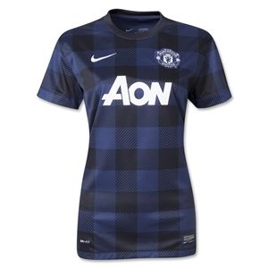 Nike Manchester United 13/14 Womens Away Soccer Jersey