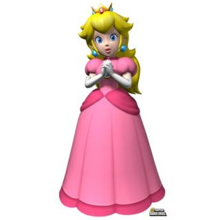 Super Mario Brothers Princess Peach Standup