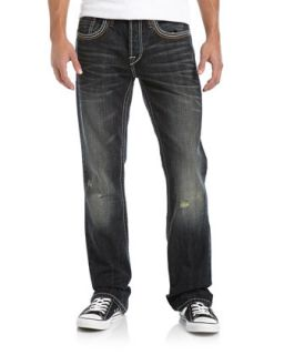 Western Slim Boot Cut Jeans