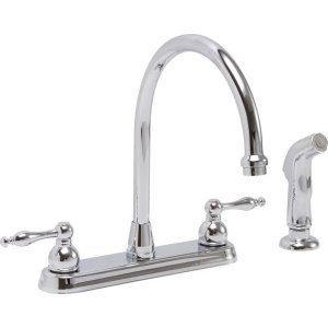 Premier Faucets 119261 Wellington Lead Free Two Handle Kitchen Faucet with Match