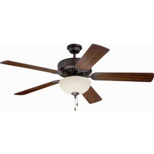 Ellington Fans ELF E208ABZ Pro 208 52 Ceiling Fan Motor only with Optional Ligh