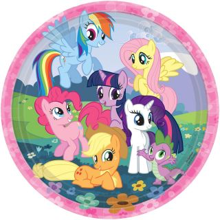 My Little Pony Friendship Magic Dinner Plates
