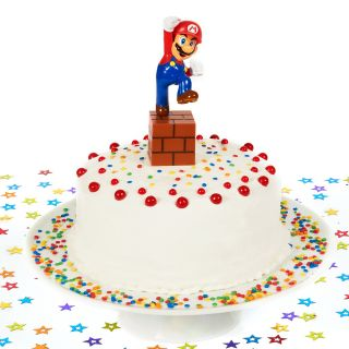 Super Mario Bros. Cake Topper